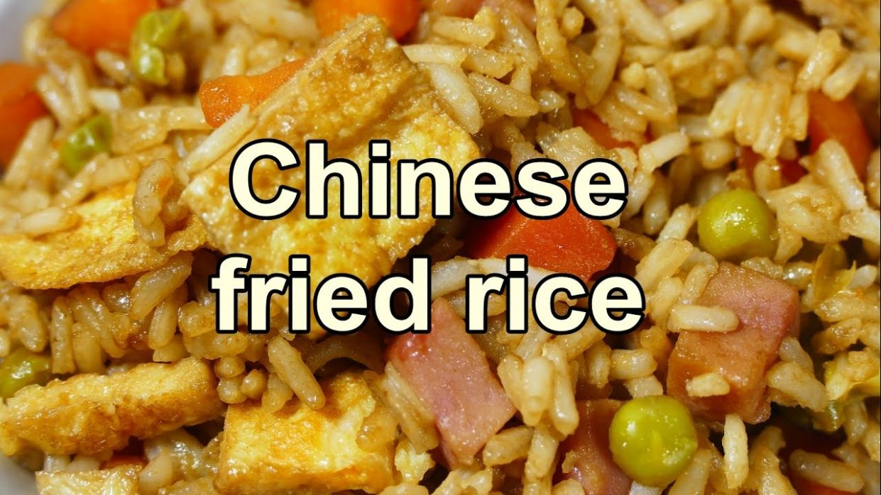 TASTY CHINESE FRIED RICE | Easy food recipes videos for dinner to make at  home - Cooking Recipes Yummy