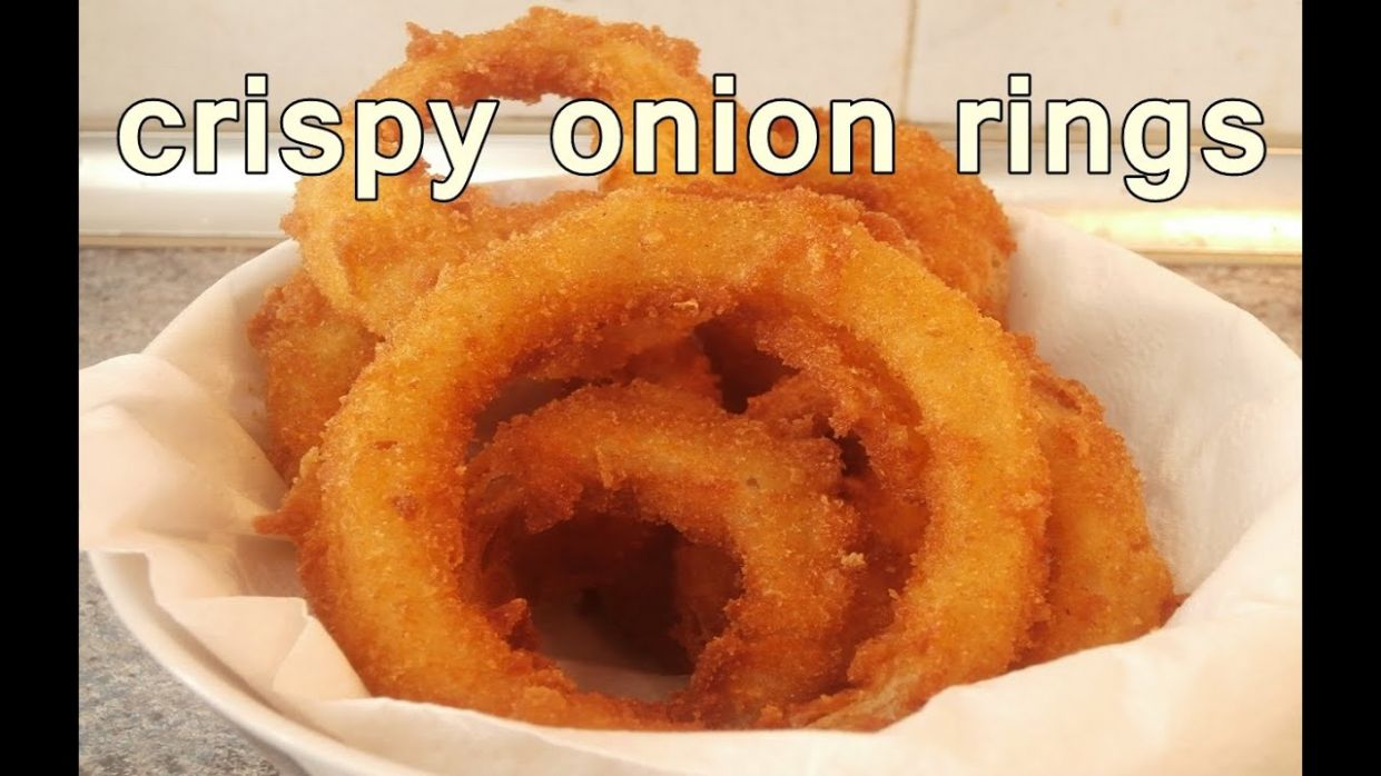 TASTY ONION RINGS - Easy Food Recipes For Dinner to make at home - Cooking  videos - Easy Recipes Videos
