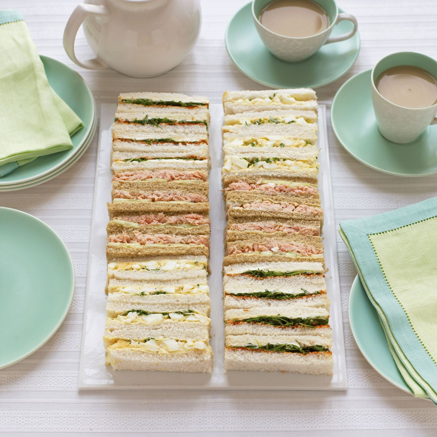 Tea Sandwich Recipes for Kids' Parties