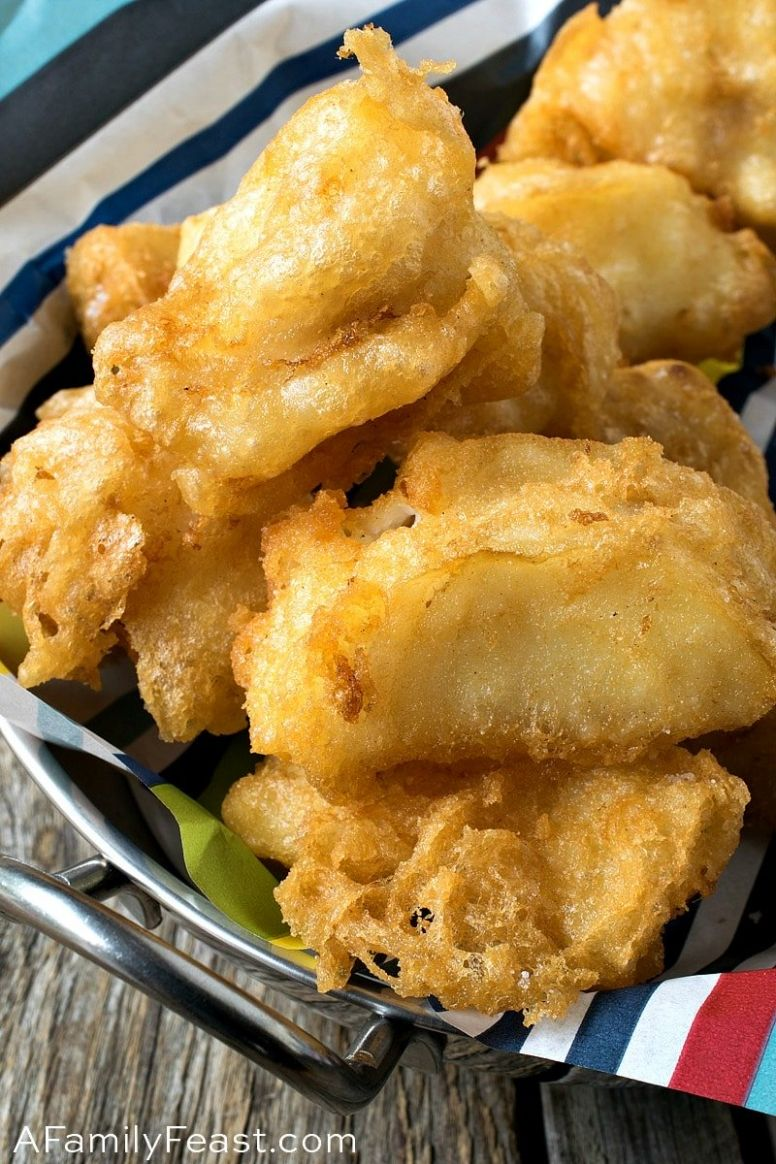 Tempura Fish Nuggets - Recipe Fish Nuggets