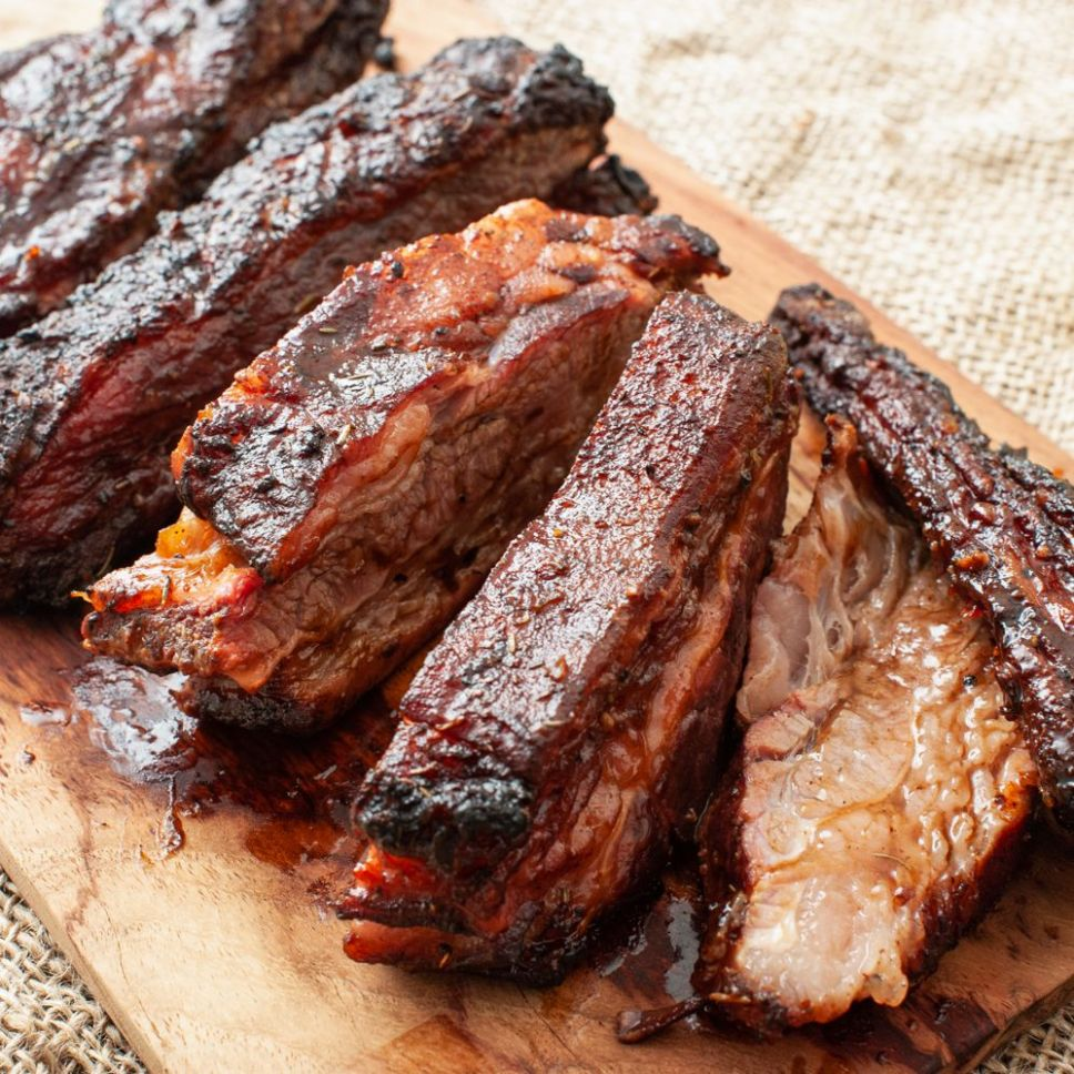 Tender Slow-Grilled Beef Ribs - Recipes Beef Back Ribs