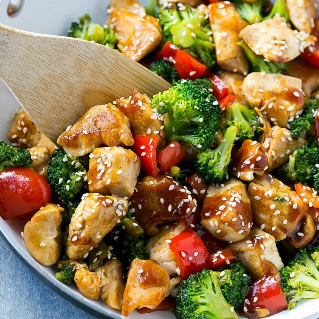 Teriyaki Chicken and Vegetables