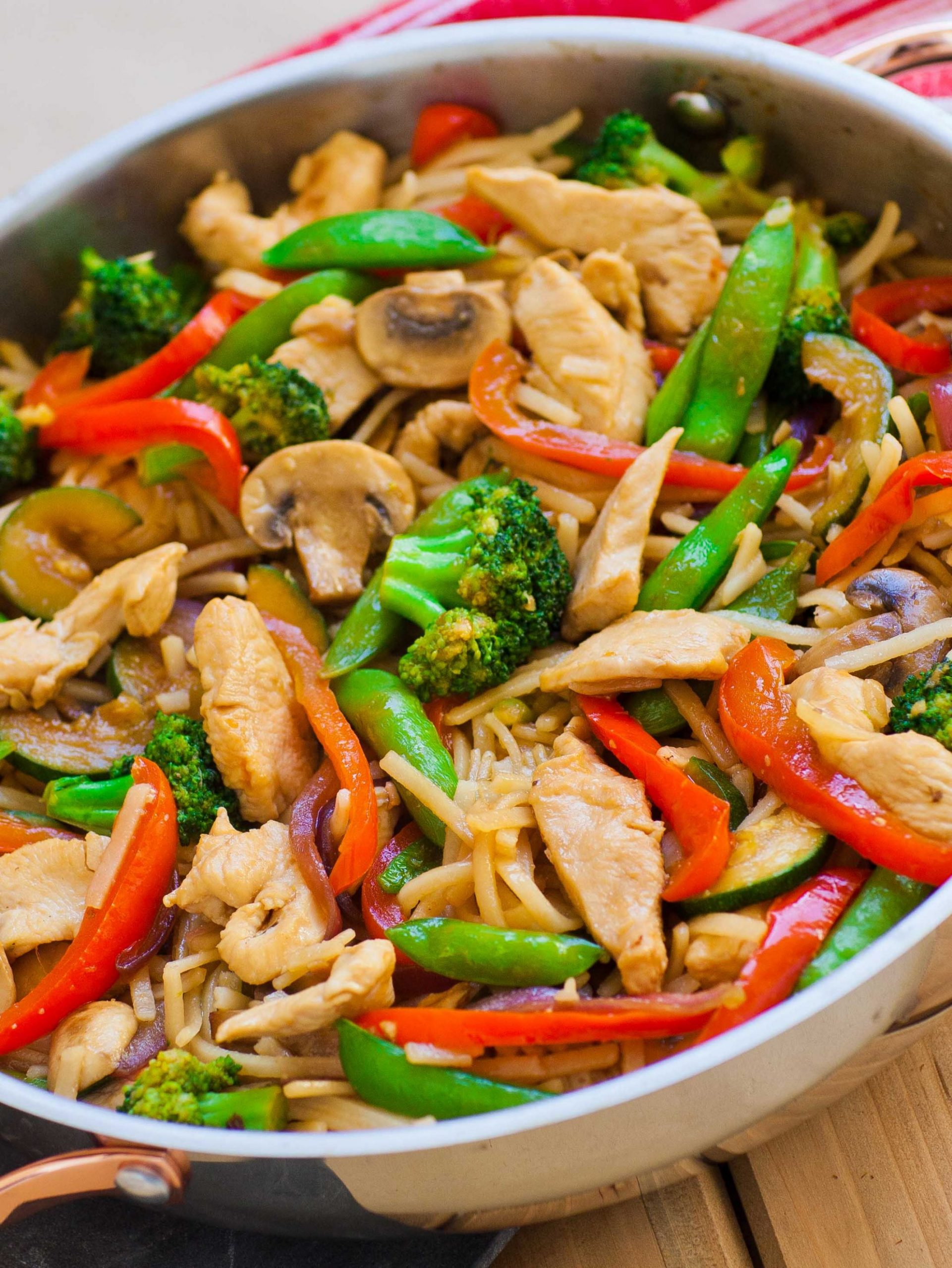 Teriyaki Chicken Stir Fry (video) - Recipes Chicken Breast Stir Fry