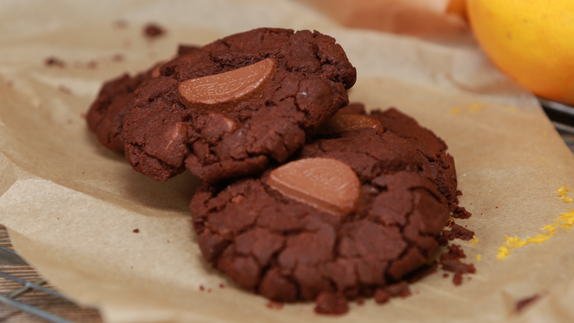 Terry's Chocolate Orange Cookies