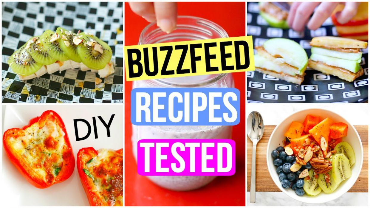 Testing BuzzFeed Recipes: DIY Healthy Breakfast + Snacks! - Healthy Recipes Buzzfeed