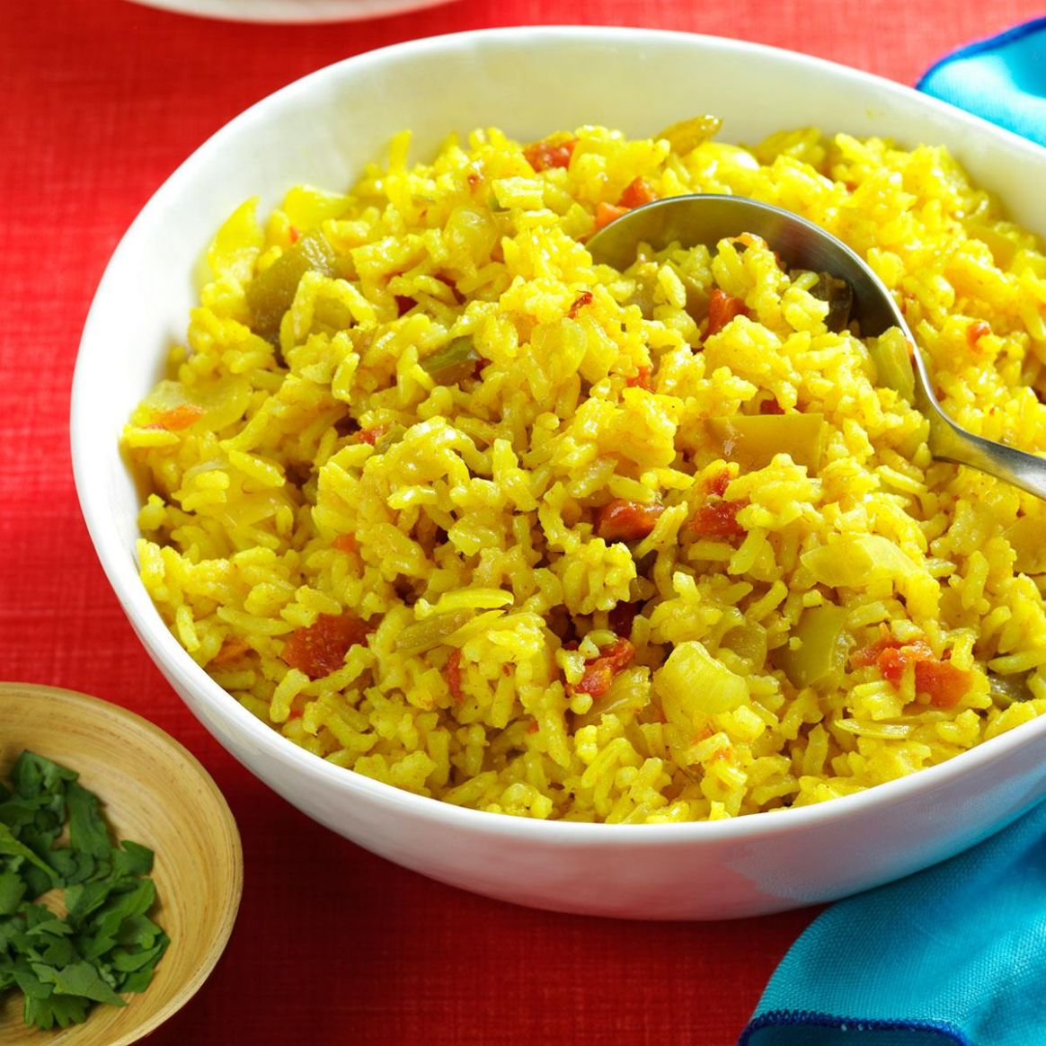 Texas-Style Spanish Rice - Recipes Of Rice