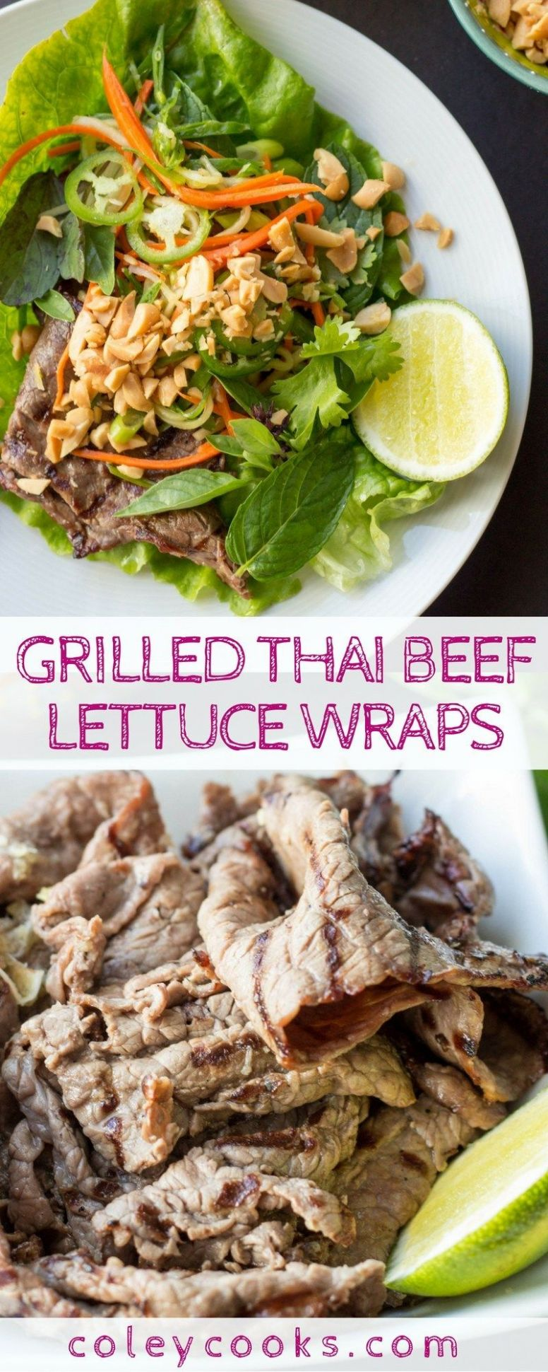 Thai Beef Lettuce Wraps - Beef Recipes Near Me