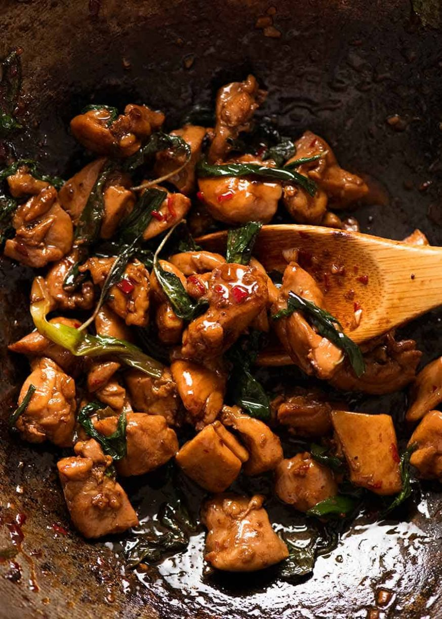 Thai Chilli Basil Chicken - Recipes Chicken Basil