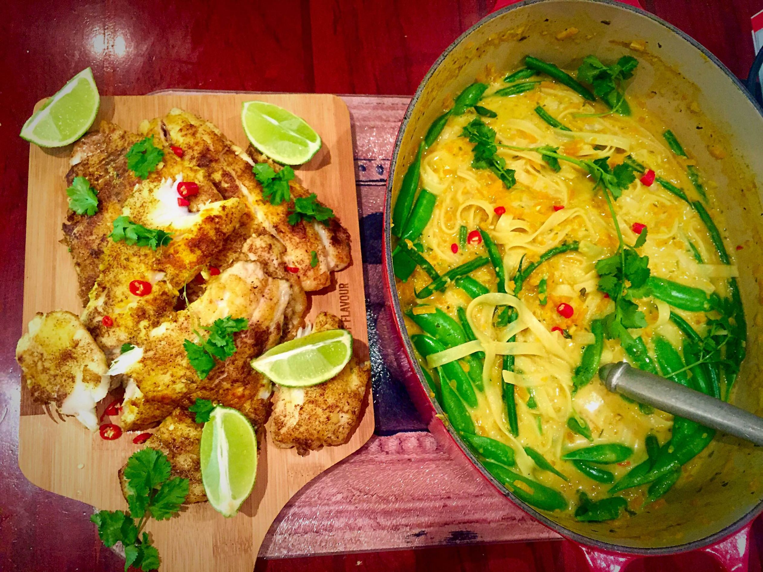 Thai Fish Laksa – Young and Hungry