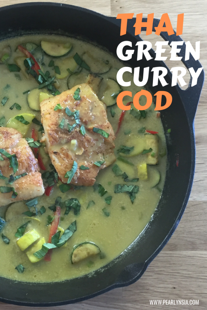 Thai Green Curry Cod