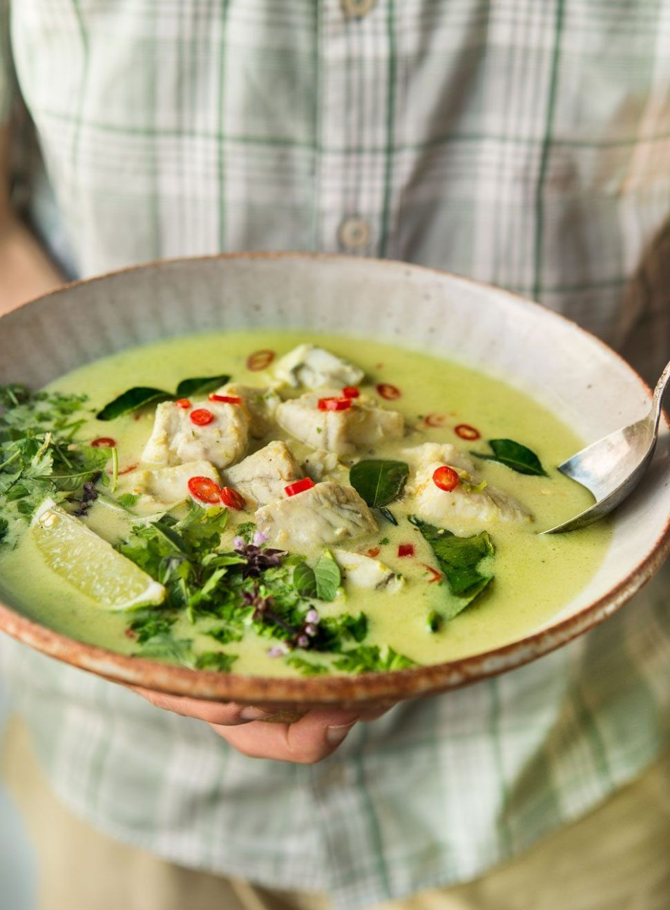 Thai Green Curry Fish Soup - Recipe Fish Green Curry