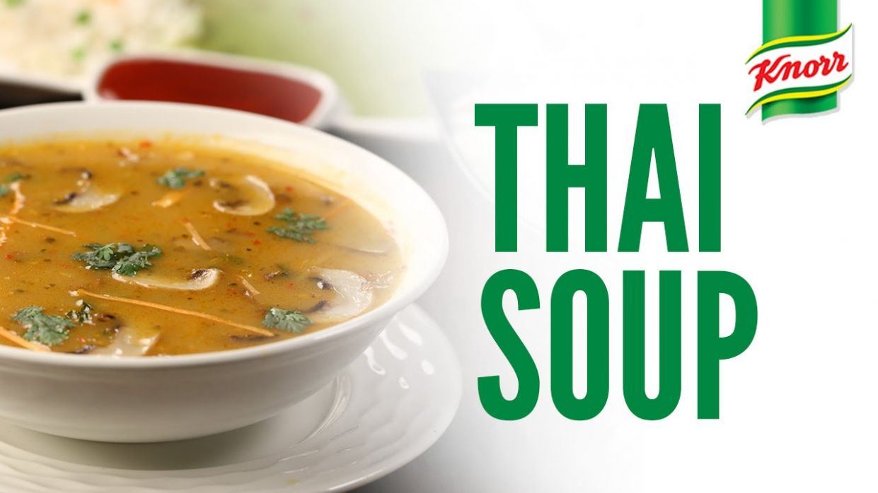 Thai Soup Recipe by Knorr - Soup Recipes Knorr
