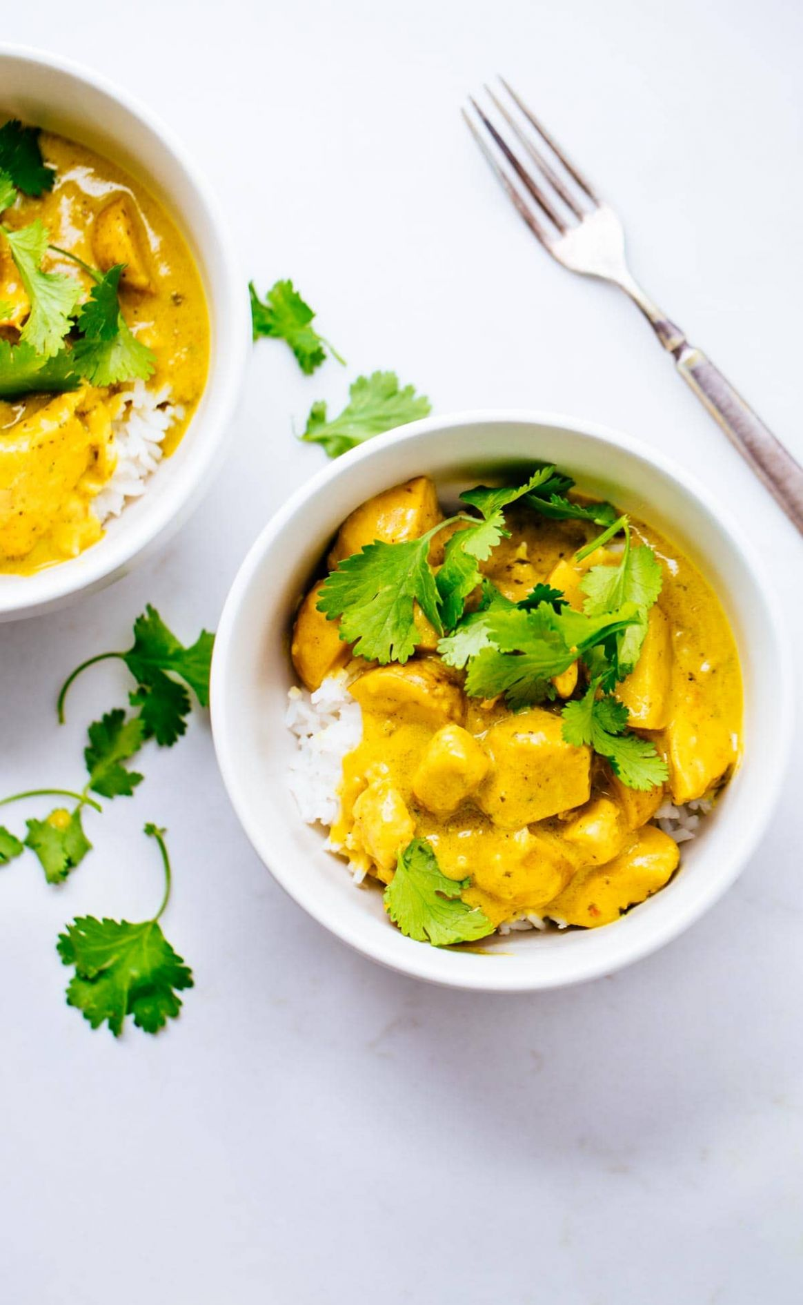 Thai Yellow Chicken Curry with Potatoes Recipe - Pinch of Yum