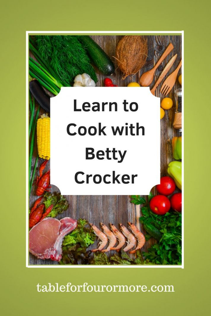 Thanksgiving and More With Betty Crocker | Learn to cook, Easy ...