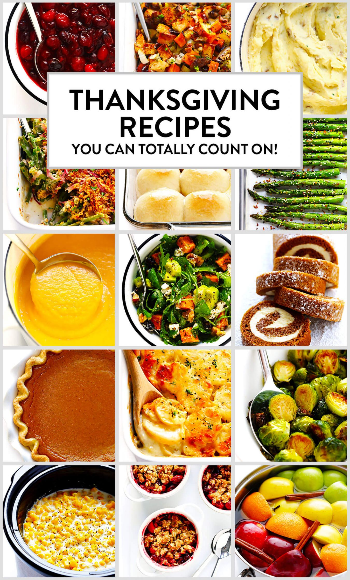 Thanksgiving Recipes You Can Totally Count On | Gimme Some Oven