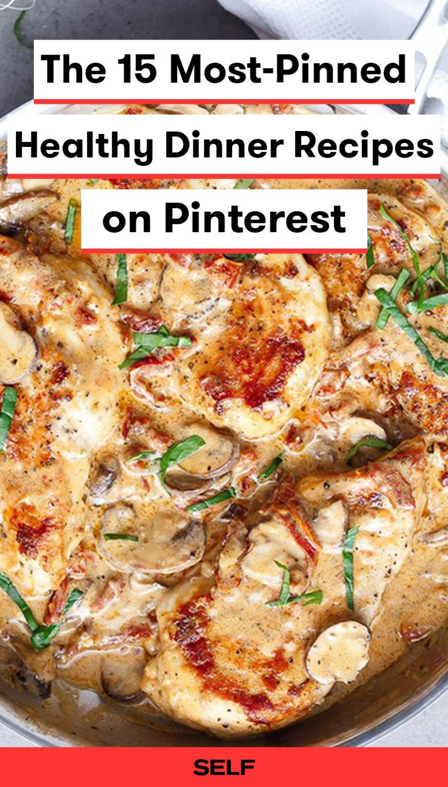 The 10 Most-Pinned Healthy Dinner Recipes on Pinterest | Heathly ...