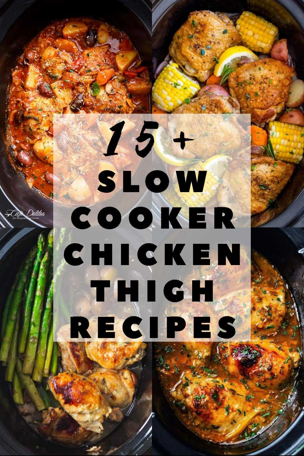 The 12+ Best Slow Cooker Chicken Thigh Recipes - Green Healthy Cooking - Recipes Chicken Thighs Crock Pot