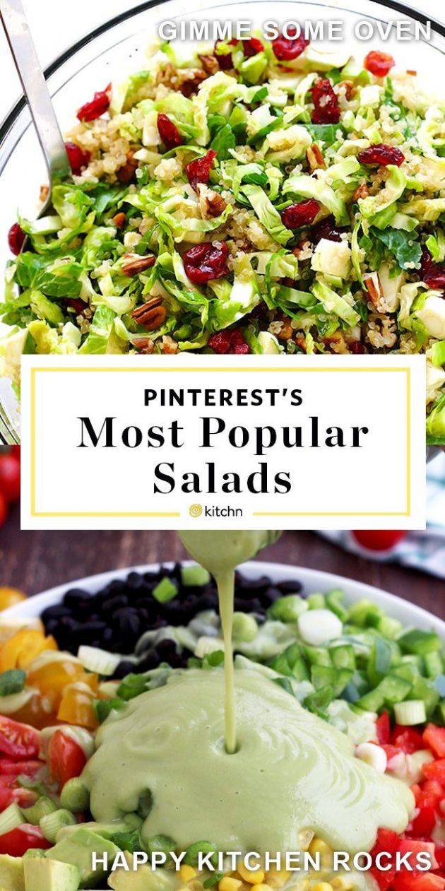 The 8 Most-Popular Healthy Salads on Pinterest Right Now | Clean ..
