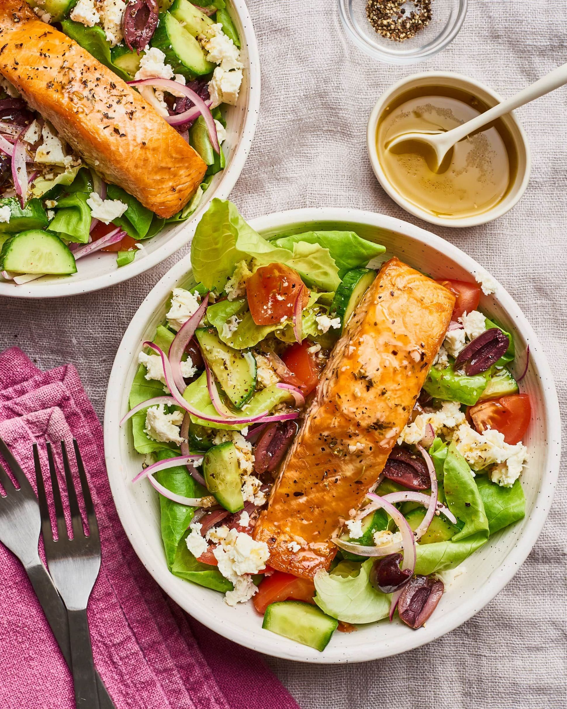 The 8 Most-Popular Healthy Salads on Pinterest Right Now | Salmon ..