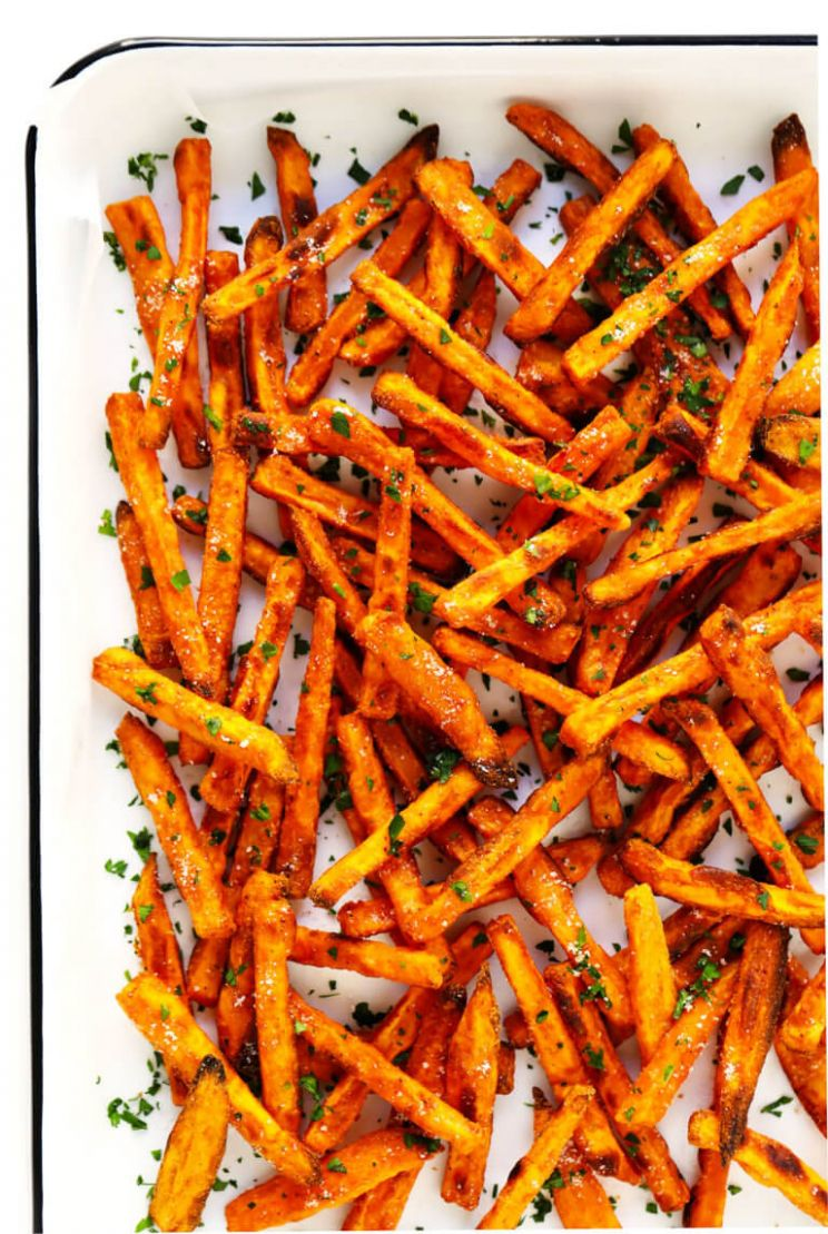 The BEST Baked Sweet Potato Fries - Recipes Potato Fries