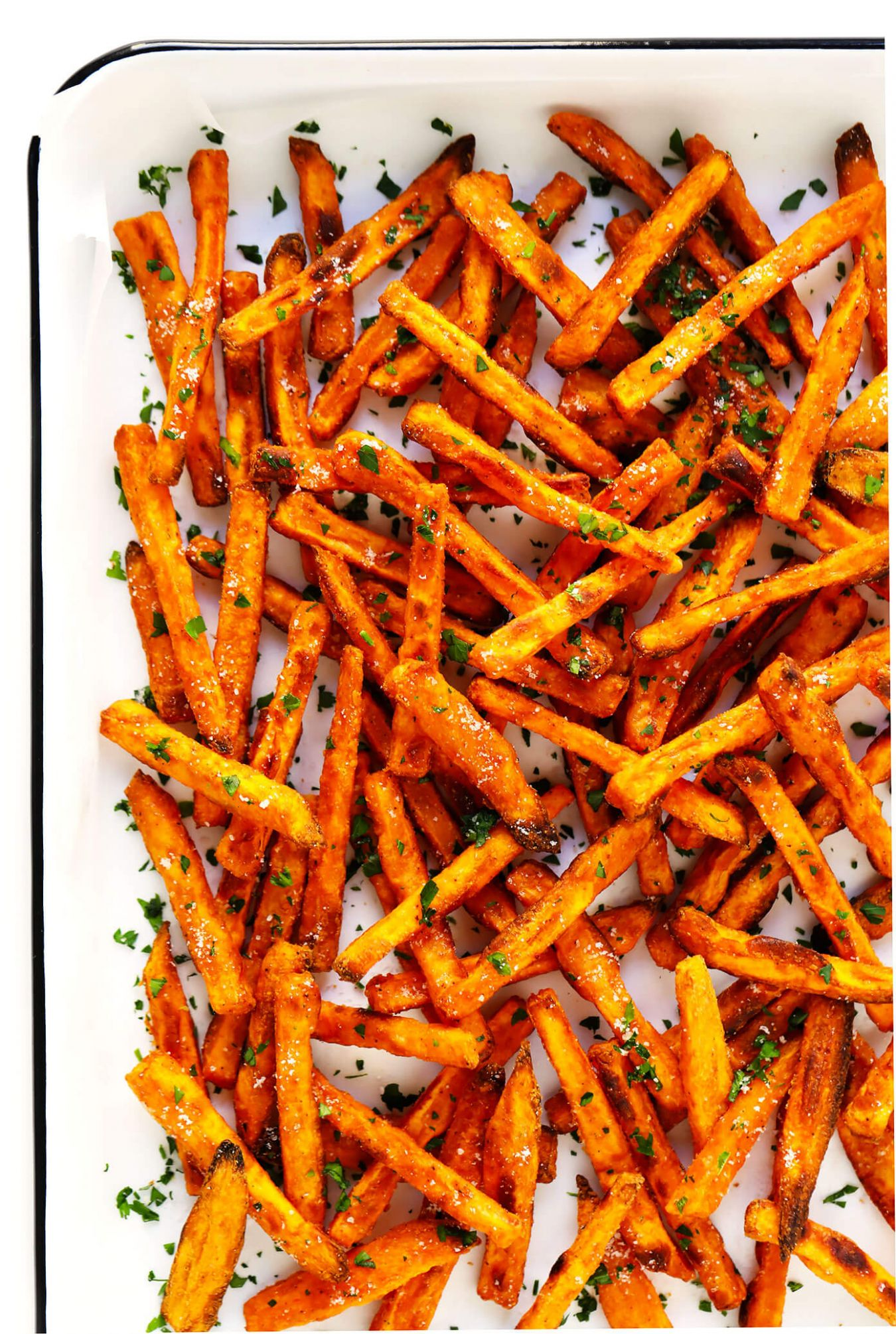The BEST Baked Sweet Potato Fries - Simple Yam Recipes