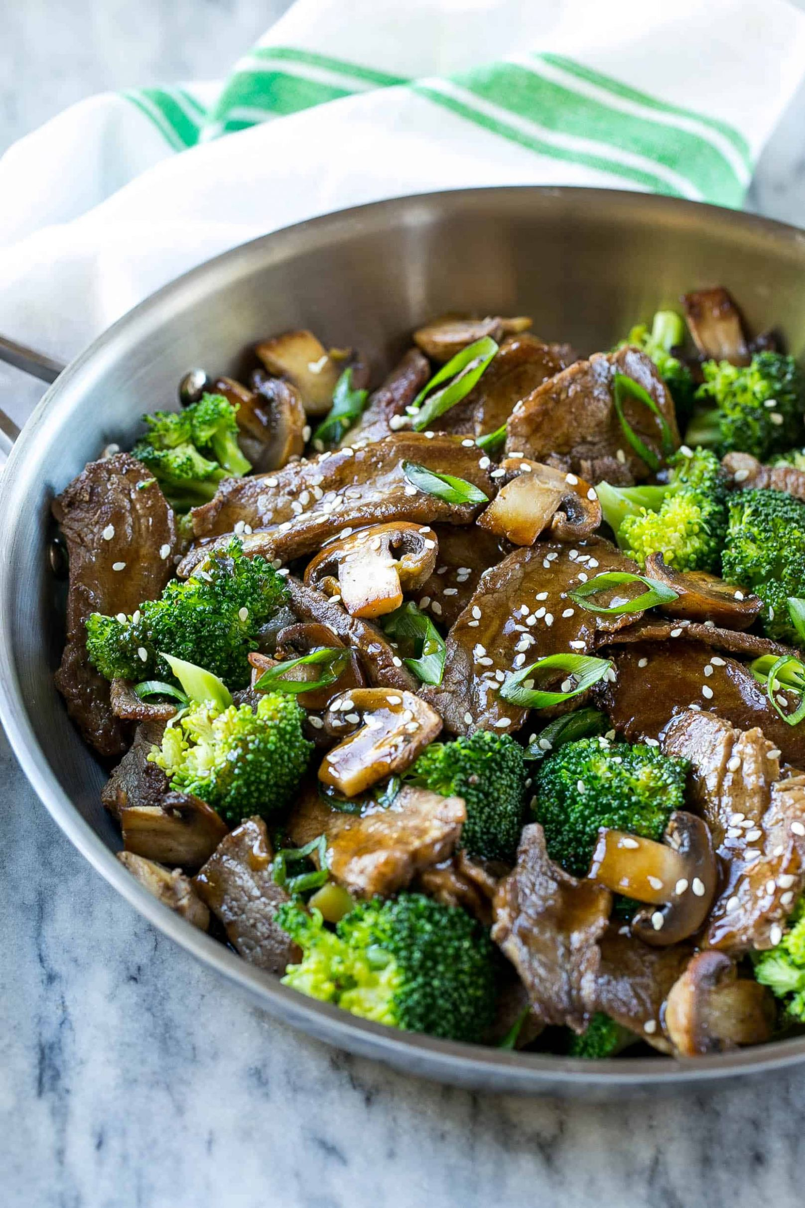The BEST Beef and Broccoli Recipe | Healthy Fitness Meals - Beef Recipes Healthy