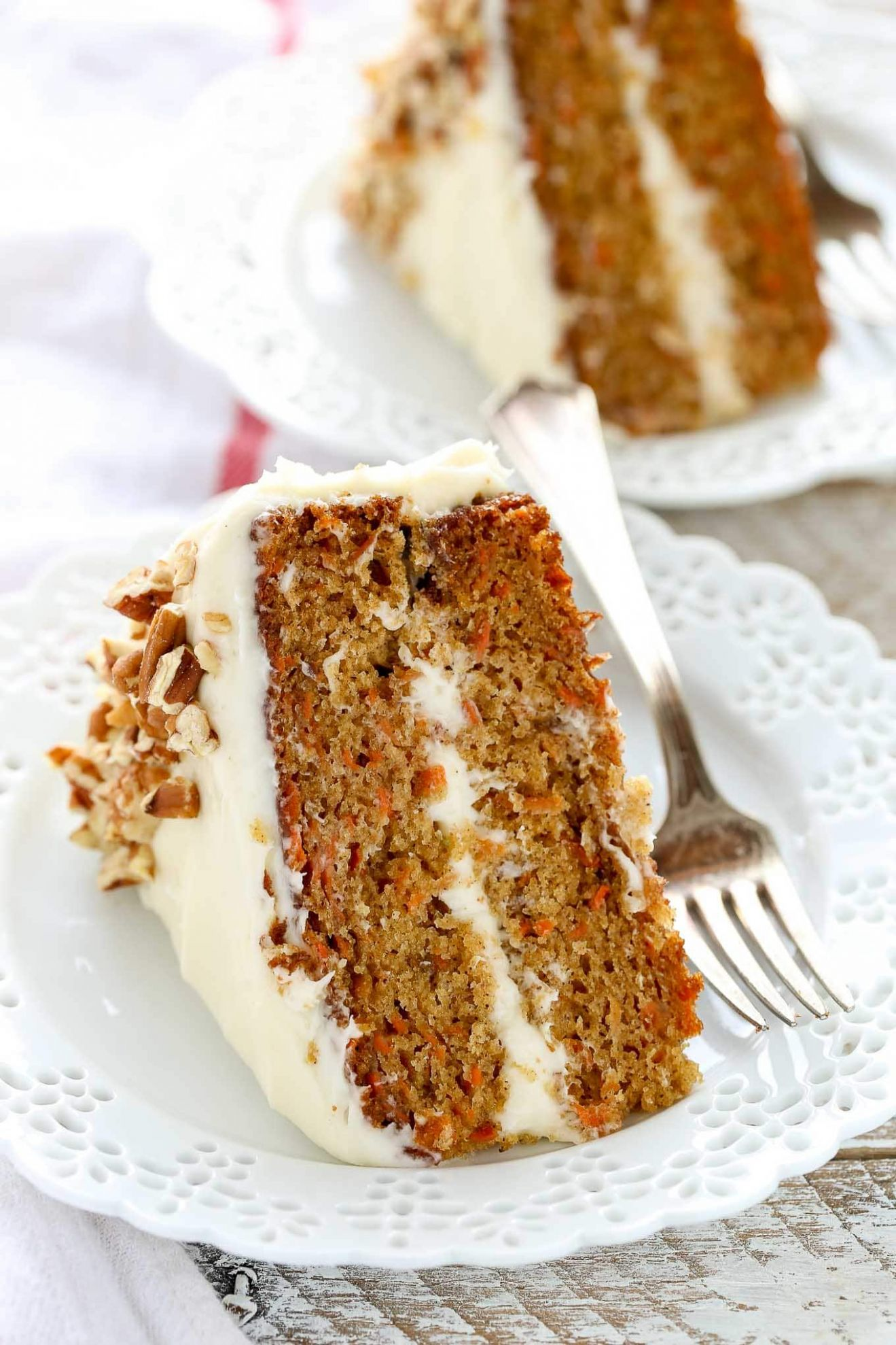 BEST Carrot Cake with Cream Cheese Frosting - Recipes Cakes And Desserts
