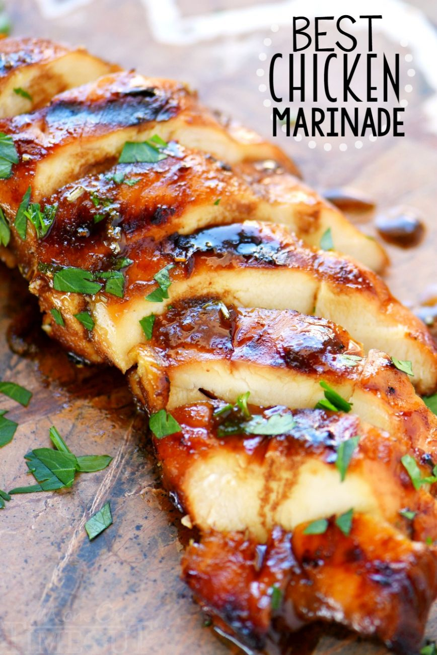 BEST Chicken Marinade - Recipes Chicken Breast Bbq