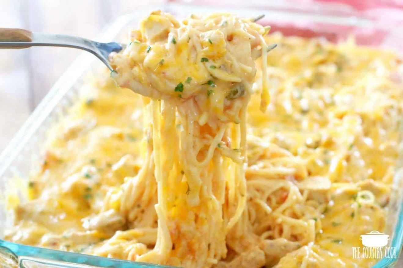THE BEST CHICKEN SPAGHETTI - Recipes Chicken Spaghetti