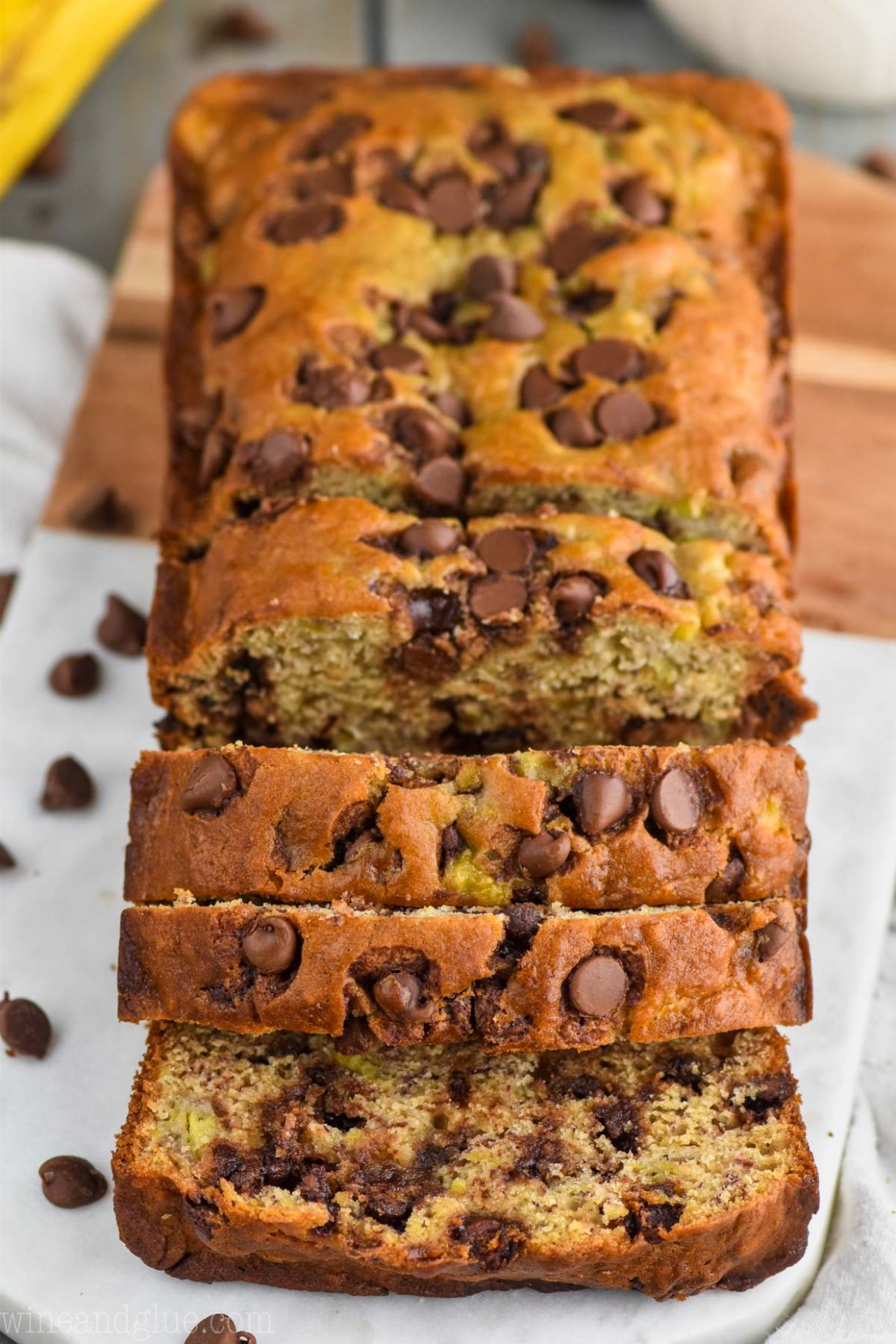 The Best Chocolate Chip Banana Bread Recipe - Recipes Chocolate Banana Bread