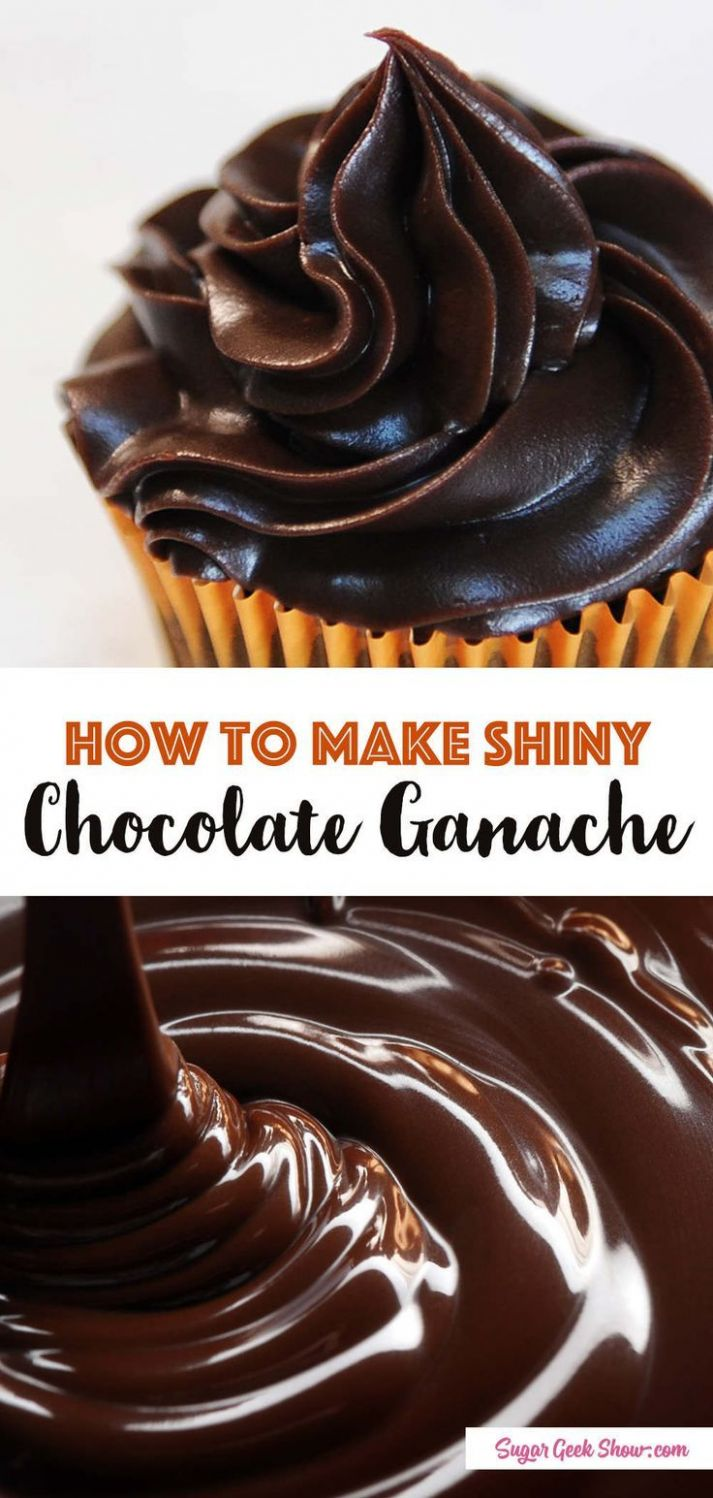 The Best Chocolate Ganache - Recipe Chocolate Ganache Icing