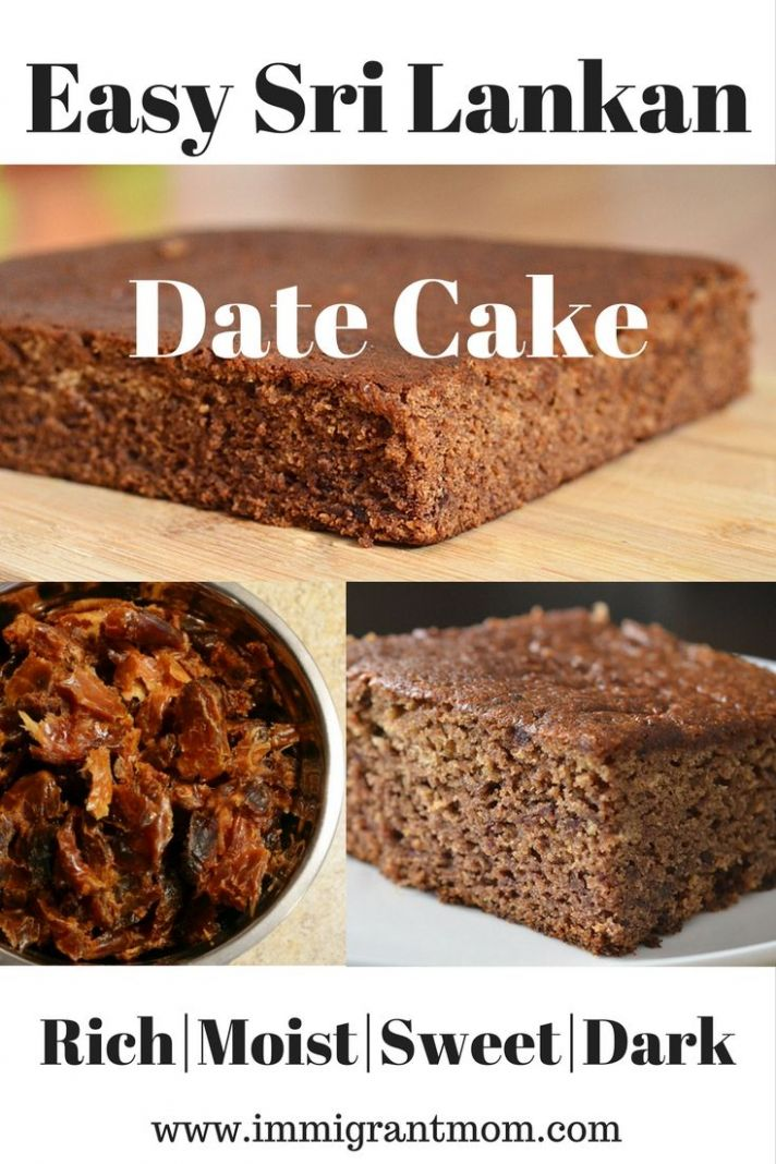 The Best Date Cake Ever