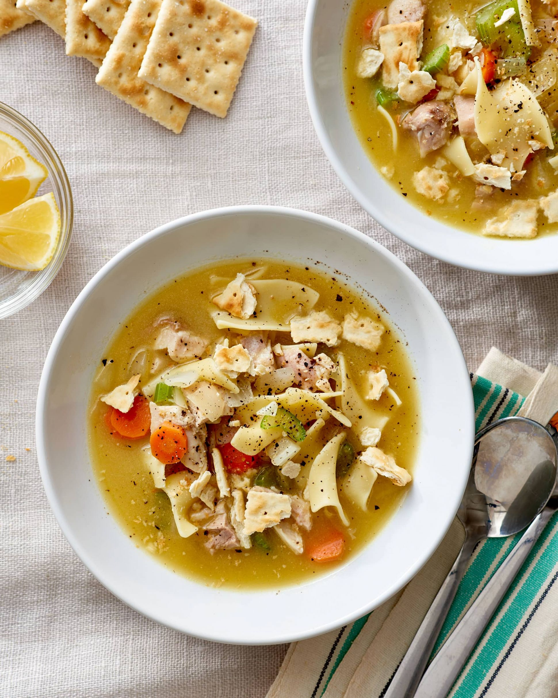 The Best Easy Homemade Chicken Noodle Soup Recipe | Kitchn - Soup Recipes Kitchn