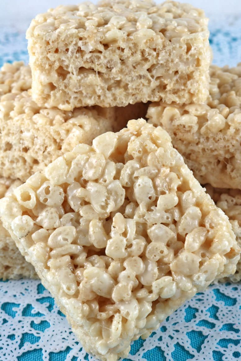 The Best Ever Rice Krispie Treat Recipe - Two Sisters - Recipes Rice Krispies
