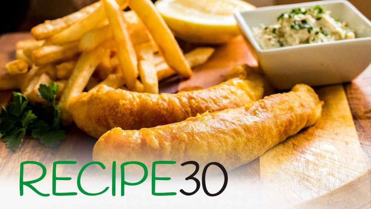 The Best Fish and Chips with crispy batter simple recipe - Recipe Fish Batter Without Beer