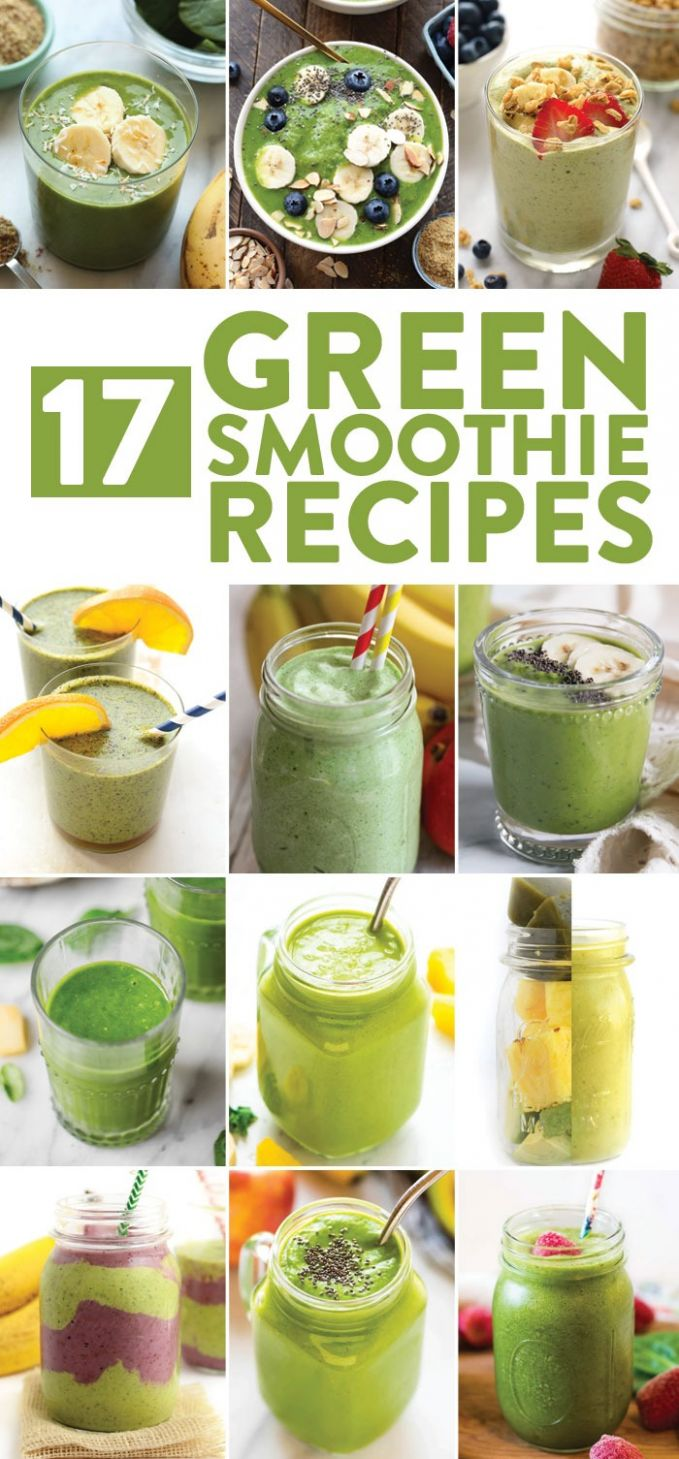 Best Green Smoothie Recipes | Fit Foodie Finds - Recipes Vegetable Smoothies