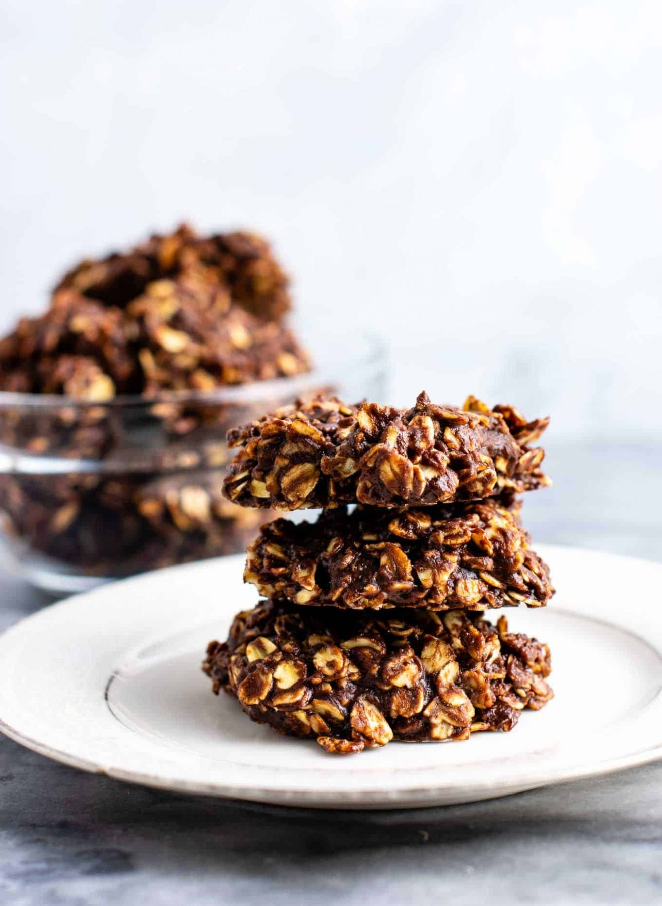 The Best Healthy No Bake Cookies - Build Your Bite - Healthy Recipes No Oven