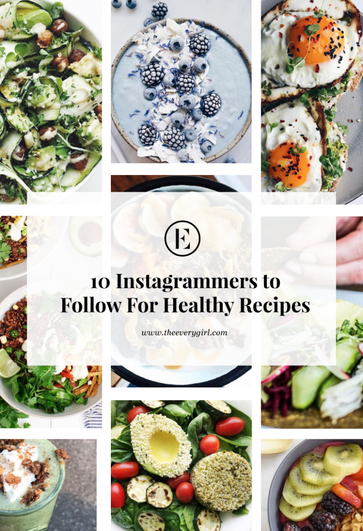 The Best Instagram Accounts to Follow for Healthy Recipes | The ..