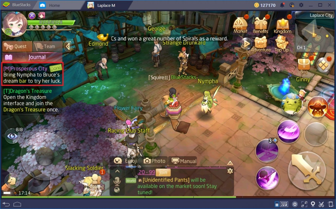The Best Leveling Methods for Tales of Wind | BlueStacks 12 - Cooking Recipes Tales Of Wind
