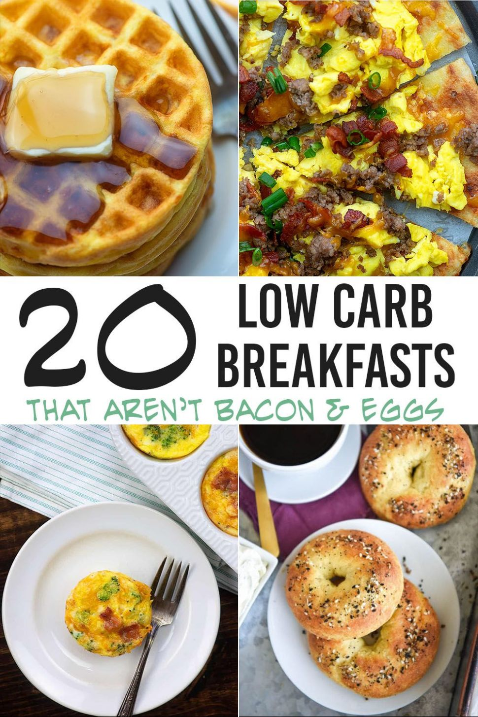 The BEST Low Carb Breakfast Ideas all in one spot! - Breakfast Recipes With Zero Carbs