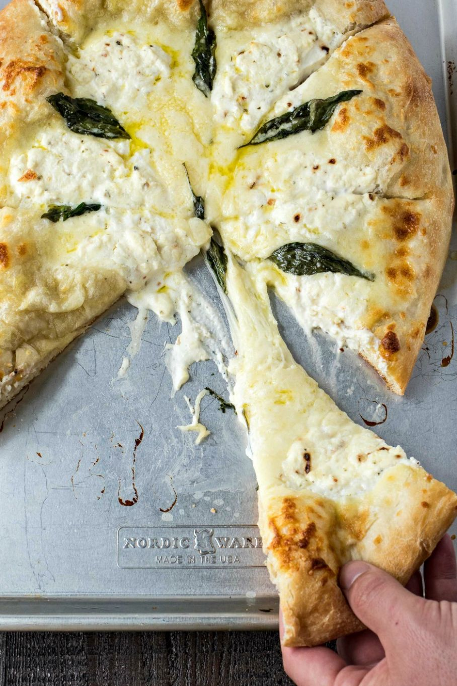 The Best Pizza Bianca (White Pizza) - Pizza Recipes No Sauce