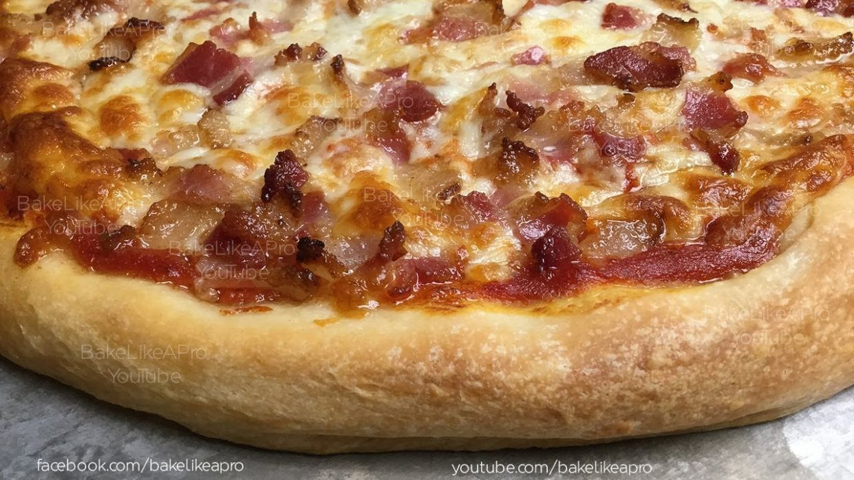 THE BEST Pizza Dough Recipe The ONLY Recipe You Will Ever Need - Pizza Recipes Youtube Video