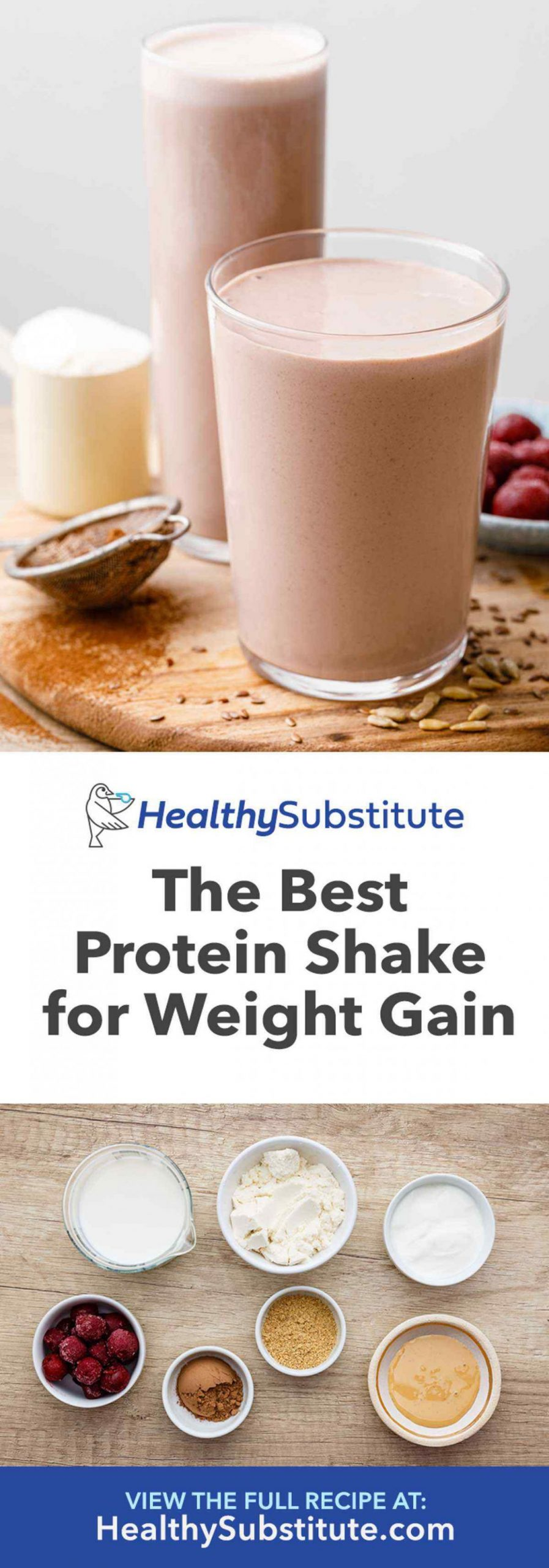 The Best Protein Shake Recipe for Weight Gain (Drink This ...