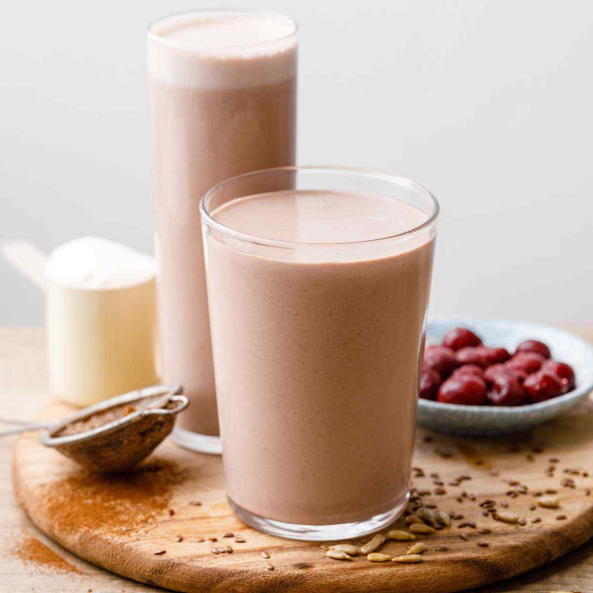The Best Protein Shake Recipe for Weight Gain (Drink This) - Recipe Weight Loss Protein Shake