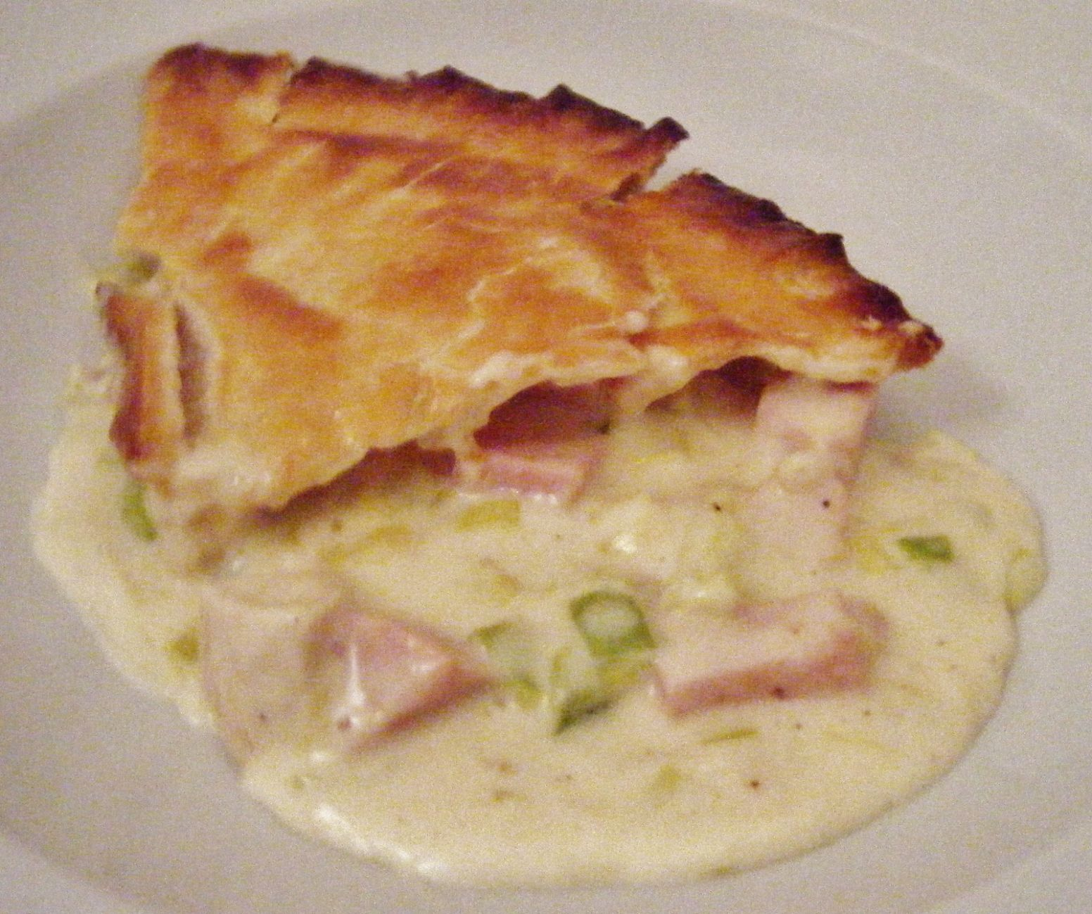the Best Recipes: Chicken, Ham & Leek Pie - Recipes Chicken Ham Pie