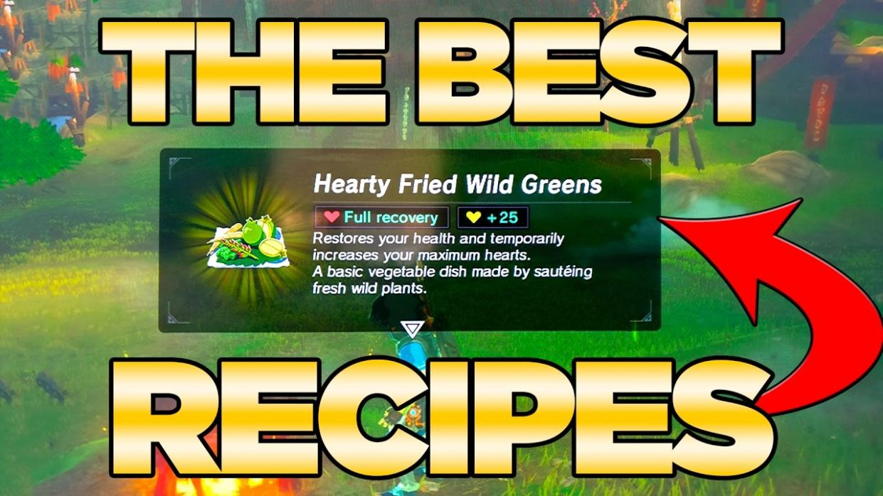 THE BEST Recipes GUIDE in Breath of the Wild - Best Dishes Cooked| Austin  John Plays - Food Recipes Zelda