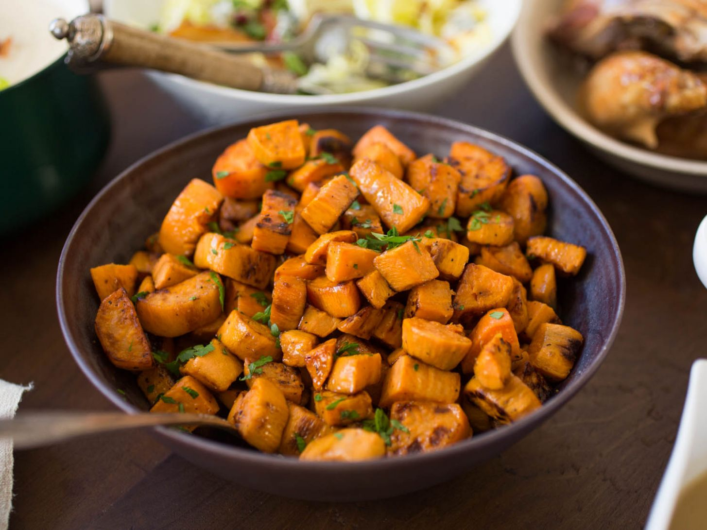 The Best Roasted Sweet Potatoes Recipe - Recipes Potato And Sweet Potato