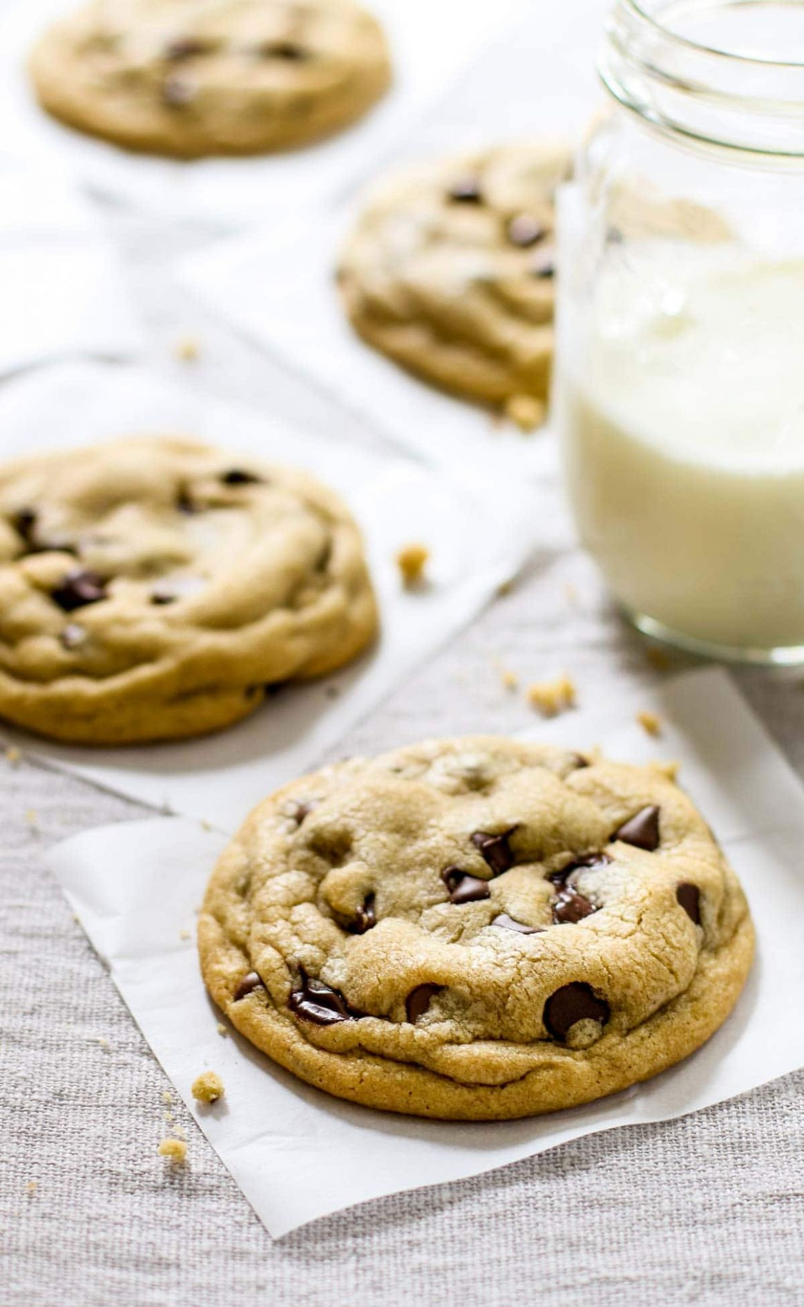 The Best Soft Chocolate Chip Cookies - Recipes Chocolate Chip Cookies