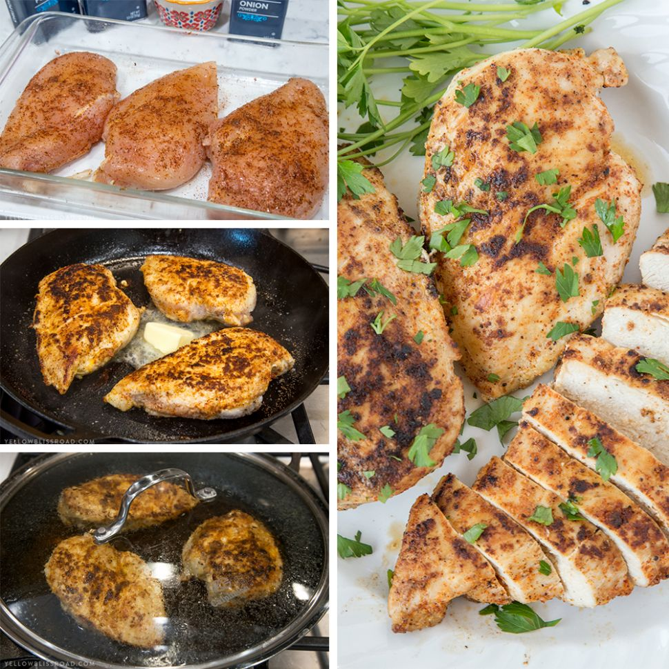 The BEST Stovetop Chicken Breast - Recipes Chicken Breast Stovetop