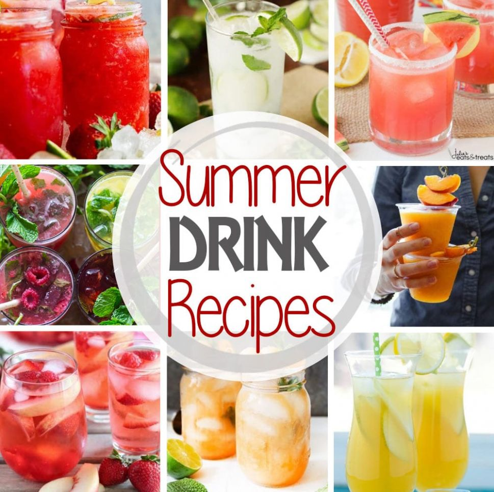 The BEST Summer Drinks! - Julie's Eats & Treats ®